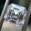 2.13ct Vintage Asscher Cut Diamond GIA H VS2 12