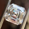 2.13ct Vintage Asscher Cut Diamond GIA H VS2 0