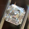 2.13ct Vintage Asscher Cut Diamond GIA H VS2 3