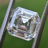 2.13ct Vintage Asscher Cut Diamond GIA H VS2 7