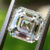 2.13ct Vintage Asscher Cut Diamond GIA H VS2 9