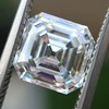 2.13ct Vintage Asscher Cut Diamond GIA H VS2 8