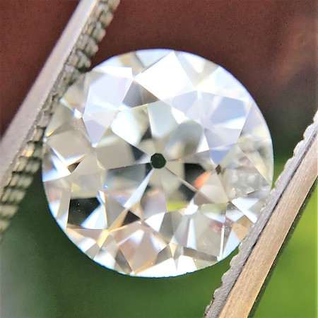 2.16ct Old European Cut Diamond GIA M VS2