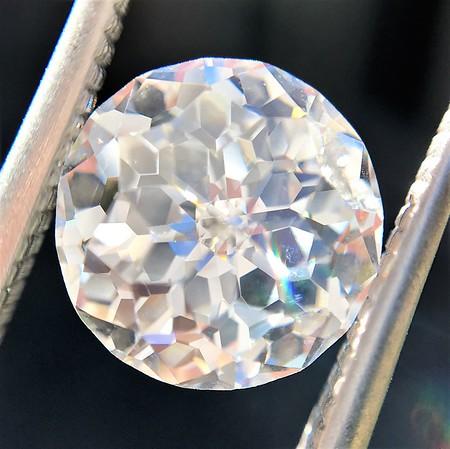 2.17ct Antique Jubilee Cut Diamond GIA J VVS2