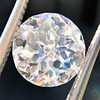 2.17ct Antique Jubilee Cut Diamond GIA J VVS2 0