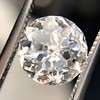 2.17ct Antique Jubilee Cut Diamond GIA J VVS2 11