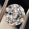 2.17ct Antique Jubilee Cut Diamond GIA J VVS2 2
