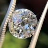 2.17ct Antique Jubilee Cut Diamond GIA J VVS2 3