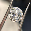 2.17ct Antique Jubilee Cut Diamond GIA J VVS2 14