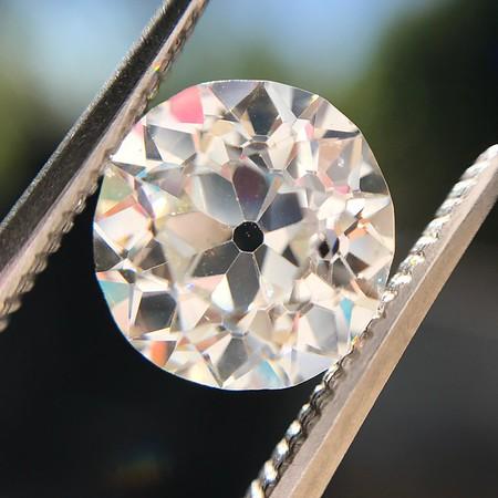 2.18tcw Old European Cut Diamond GIA JVS2