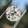 2.18ct Old European Cut Diamond GIA JVS2 5