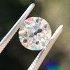 2.18ct Old European Cut Diamond GIA JVS2 9
