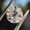 2.18ct Old European Cut Diamond GIA JVS2 6