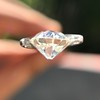 2.18ct Old European Cut Diamond GIA JVS2 8