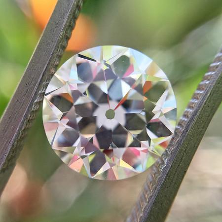 2.19ct Old European Cut Diamond, GIA M VS2