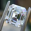 2.23ct Vintage Asscher Cut Diamond GIA G VS1 14