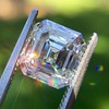 2.23ct Vintage Asscher Cut Diamond GIA G VS1 22