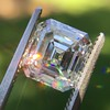 2.23ct Vintage Asscher Cut Diamond GIA G VS1 1
