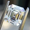 2.23ct Vintage Asscher Cut Diamond GIA G VS1 2