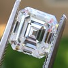 2.23ct Vintage Asscher Cut Diamond GIA G VS1 3