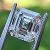2.23ct Vintage Asscher Cut Diamond GIA G VS1 12