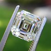 2.23ct Vintage Asscher Cut Diamond GIA G VS1 25