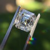 2.23ct Vintage Asscher Cut Diamond GIA G VS1 20