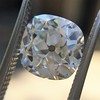 2.27ct Antique Cushion Cut Diamond GIA J VVS2 10