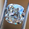 2.27ct Antique Cushion Cut Diamond GIA J VVS2 2