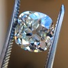 2.27ct Antique Cushion Cut Diamond GIA J VVS2 18