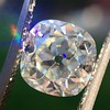 2.27ct Antique Cushion Cut Diamond GIA J VVS2 7