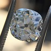 2.27ct Antique Cushion Cut Diamond GIA J VVS2 21