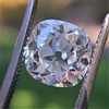 2.27ct Antique Cushion Cut Diamond GIA J VVS2 14