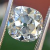 2.27ct Antique Cushion Cut Diamond GIA J VVS2 5
