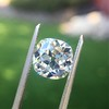 2.27ct Antique Cushion Cut Diamond GIA J VVS2 19