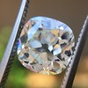 2.27ct Antique Cushion Cut Diamond GIA J VVS2 12