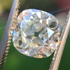 2.27ct Antique Cushion Cut Diamond GIA J VVS2 15