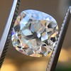 2.27ct Antique Cushion Cut Diamond GIA J VVS2 3