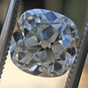 2.27ct Antique Cushion Cut Diamond GIA J VVS2 13