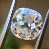 2.27ct Antique Cushion Cut Diamond GIA J VVS2 4