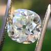 2.27ct Antique Cushion Cut Diamond GIA J VVS2 11