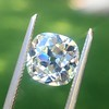 2.27ct Antique Cushion Cut Diamond GIA J VVS2 9