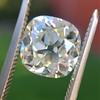 2.27ct Antique Cushion Cut Diamond GIA J VVS2 6