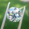 2.27ct Antique Cushion Cut Diamond GIA J VVS2 1