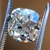 2.27ct Antique Cushion Cut Diamond GIA J VVS2 17