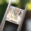 2.28ct Carre Cut Diamond GIA DVS2 2