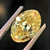 2.30ct Antique Oval GIA Fancy Intense Yellow VS2 14
