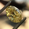 2.30ct Antique Oval GIA Fancy Intense Yellow VS2 8