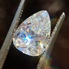 2.31ct Vintage Pear Cut Diamond GIA D VS2 6