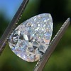 2.31ct Vintage Pear Cut Diamond GIA D VS2 1